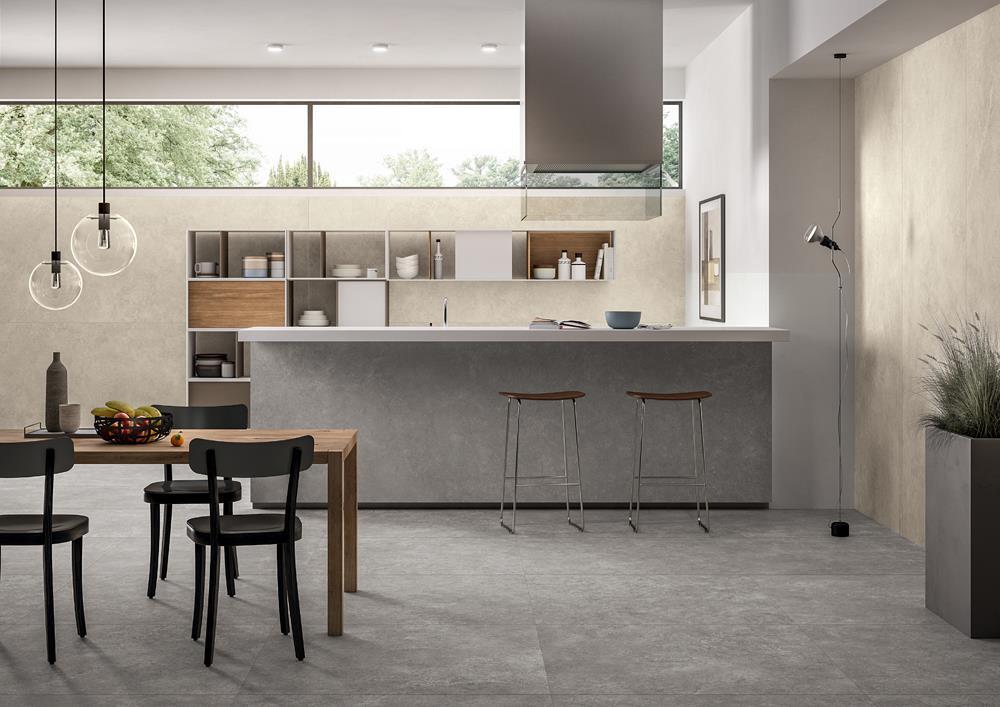 Zero 3 prime stone collection panaria flooring and cladding - Piastrelle cucina pietra ...